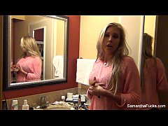 Samantha Saint behind the scenes footage