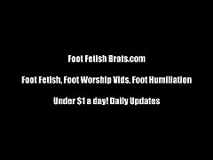Free foot worship yoga instruction!