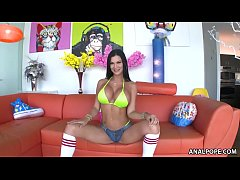Jasmine Jae takes big dick anally