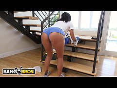 BANGBROS - My Dirty Maid Selena Santana Cleans My House And My Big Dick