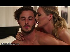 Cougar Mona Wales Ejaculate's on Stepson's Dick
