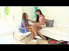 Alexis Adams and Bianca Breeze threesome
