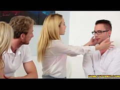 Alina West Stretch pussy drilled by step bros big cock