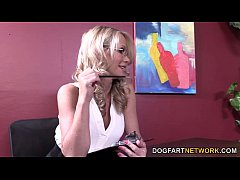Simone Sonay Abuses Her Power To Get Some Black Dick