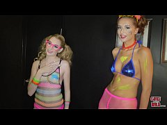 GIRLS GONE WILD - Alone Time With A Young Raver Chick Named Ivy