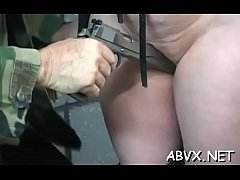 Slutty woman extreme bondage