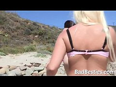 Sultry Surfing Chicks Giving Head and Rammed