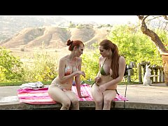 Kendra James and Veronica Vain at Mommy's Girl