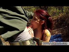 Tattooed blonde anal hd Oficer of patrol agrees to help redhaired