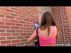 Pressley Carter Takes BBCs - Gloryhole