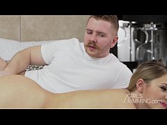 Russian Tenn Selvaggia Babe anal with rimjob and asslicking