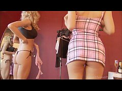 Naughty lesbians have some fun together