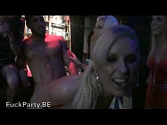 Party girls get naked with the stripper
