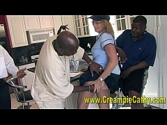 Creampie Delivery For MILF