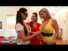 BANGBROS - Pornstars With Big Tits and Big Ass Crash This College Party And Chaos Ensues!