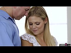 Blonde looking for her real daddy on a sperm do...