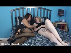 Charlee Chase tastes a shy teen's pussy!