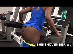 Msnovember Fucked By Stranger In Public Gym Rough Doggystyle Pounding & Blowjob