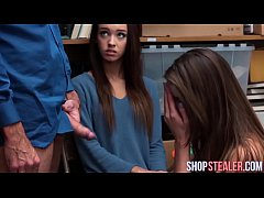 Shoplifters Charity Crawford and Zoey Laine Suck Dick and Rammed
