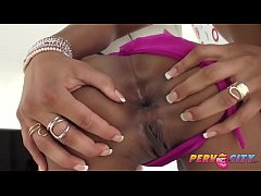 PervCity Chocolate BJ with Skin and Teanna