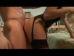 Antonia Deona Fucked In Stockings And Pigtails