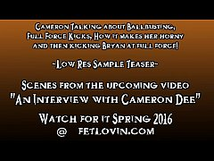 An Interview with Cameron Dee - Low Res Teaser