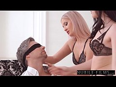 Step Dad Tied Up And Fucked By Teen Daughters