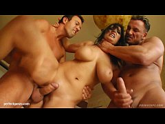 Big boobs Jasmine B gets her tits fucked gonzo style on Prime Cups