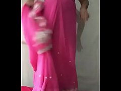 Indian old aunty gets naked in front of father-in-law