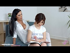 Lesson dreams by Sapphic Erotica - sensual erotic lesbian porn with Kyra Queen a