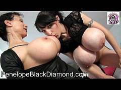 Penelope Black Diamond Sklavin Michaela 29x5,5 Dildo Gonzales  Preview