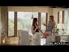 BLACKED First Interracial Threesome For Sydney ...
