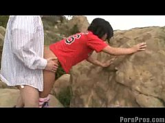 Teen Fucked in the Nature!