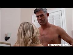 Young Blonde Mormon Girl Zoe Parker Sex With President While Boyfriend Cuckold