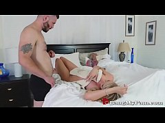 Stepson Fucks Hot Mom Rachael Cavalli Next To Dozy Dad