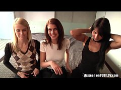 Three czech babes in need of proper dick