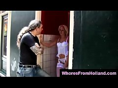 Real amateur finds prostitute in red light district