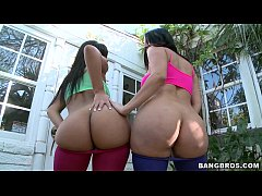 2 Latina Sluts with Big Asses