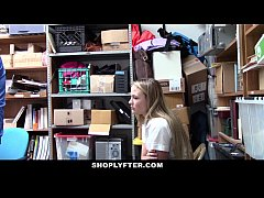 Shoplyfter - Catholic Schoolgirl Punished For Stealing