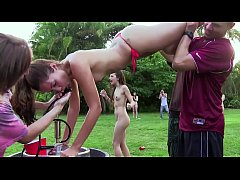 COLLEGE RULES - Horny Young Students Enjoy A Fi...