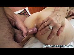 Granny banged and jizzed