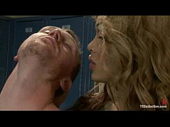 Super hung, Adriana Rush takes control of her m...