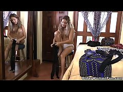 Latina housewife Susana gets ready for a night out but needs an orgasm for starters