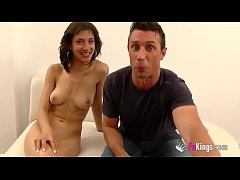 Spanish husband watches his teen wife being pounded by another man