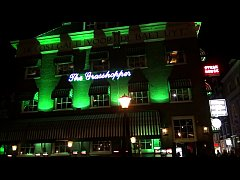The Grasshopper in the City Center of Amsterdam