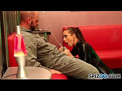 Spizoo - Abigail Mac suck and fuck a huge cock in different positions