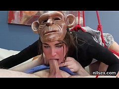 Hot teenie was taken in anal hole nuthouse for uninhibited therapy