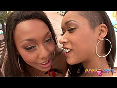 PervCity Threesome Interracial Blowjob