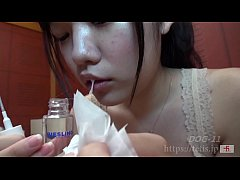 beauty girl and sniff smell fetish
