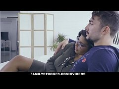 FamilyStrokes - Hot Latin Twin Sisters Compete ...
